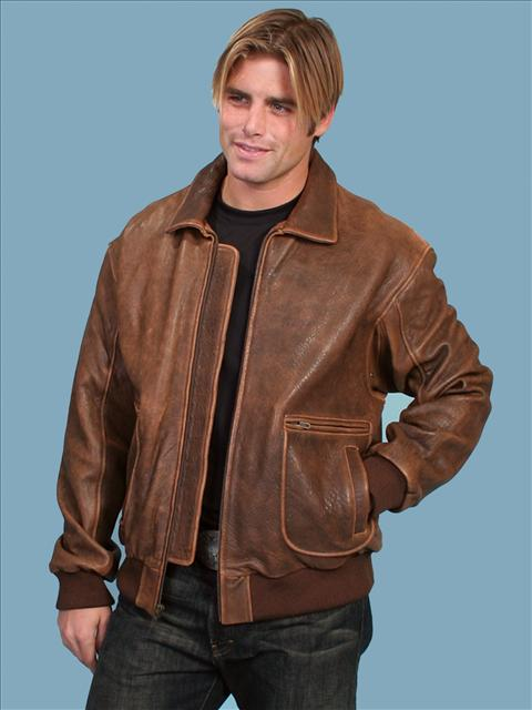 AERO SQUADRON LEATHER JACKET from Aircraft Spruce Europe